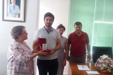 Dil Derneği Gürhan Uçkan Ödülü Cihan Adıman'a Sunuldu