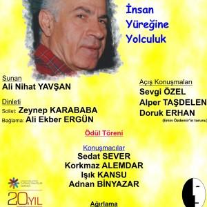 Emin Özdemir Türkçe Ödülü Dr. Sedat Karagül'e Sunuluyor